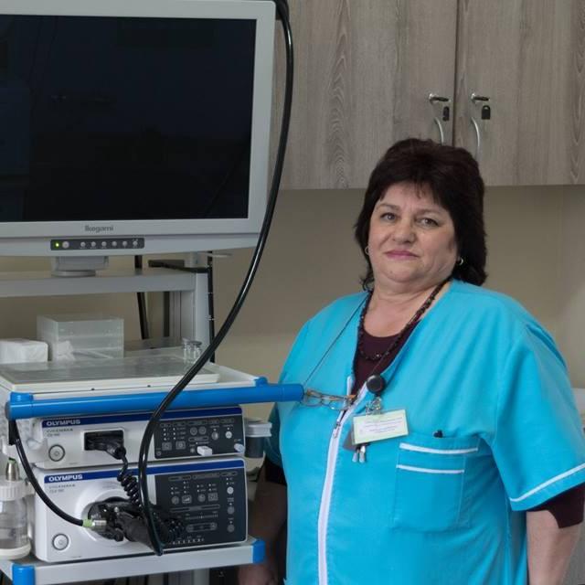 Медицинска сестра Ленка Владимирова и гастроскопия